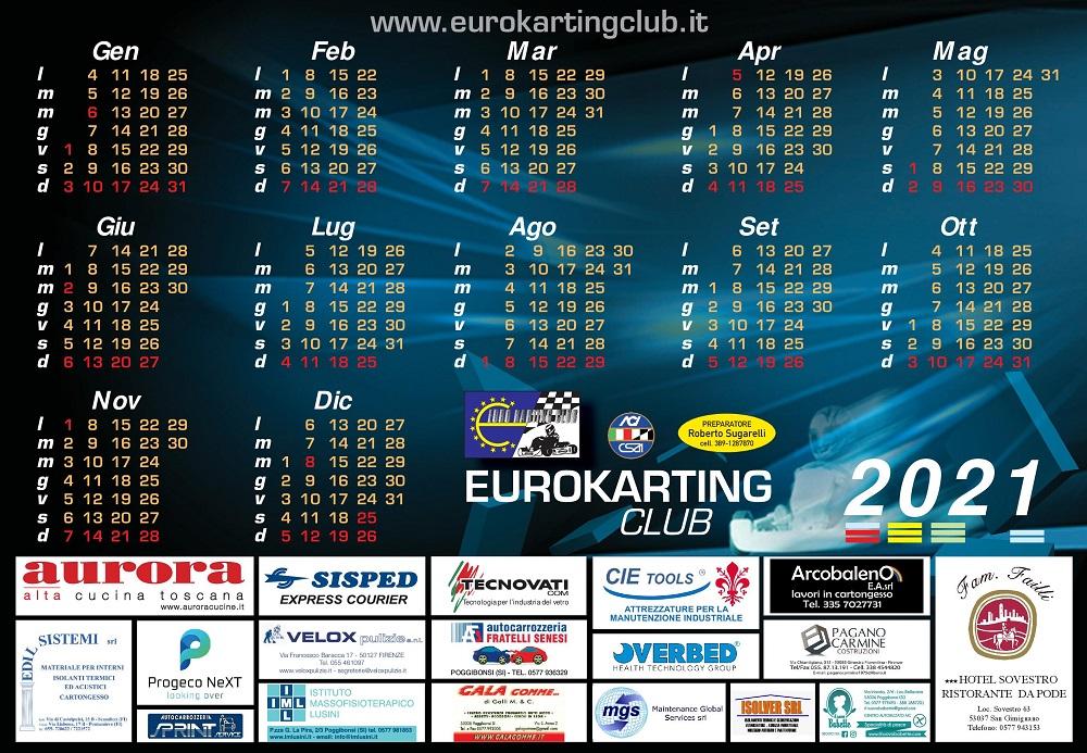 Aci Csai Calendario 2021 Welcome to Eurokarting Club